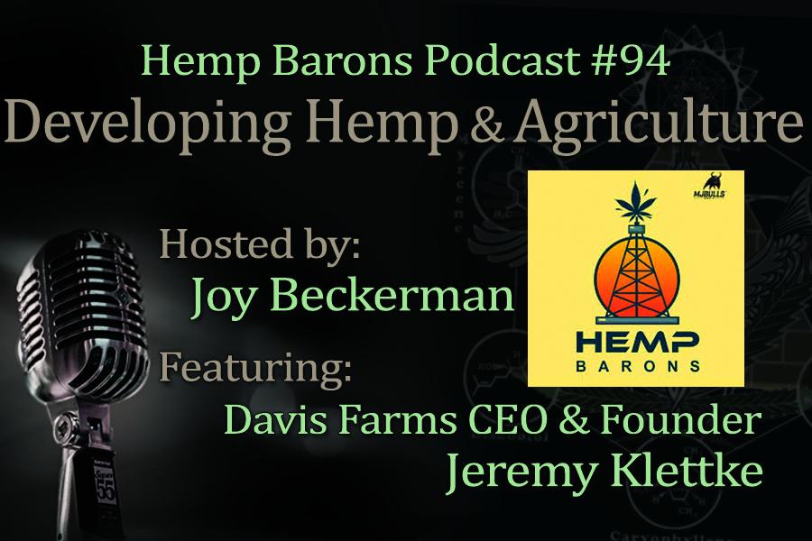 Hemp regulation and seed genetics podcast, hemp barons episode #94