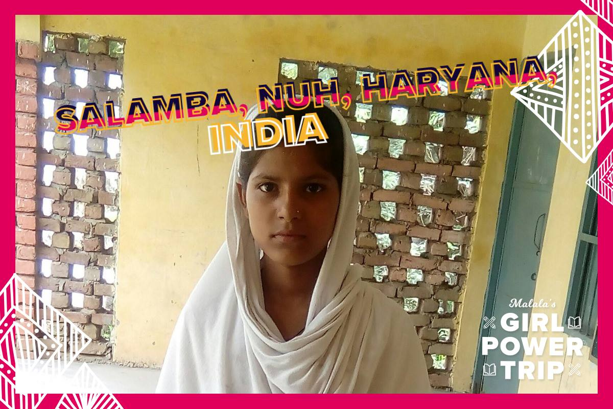 Postcards to Malala
