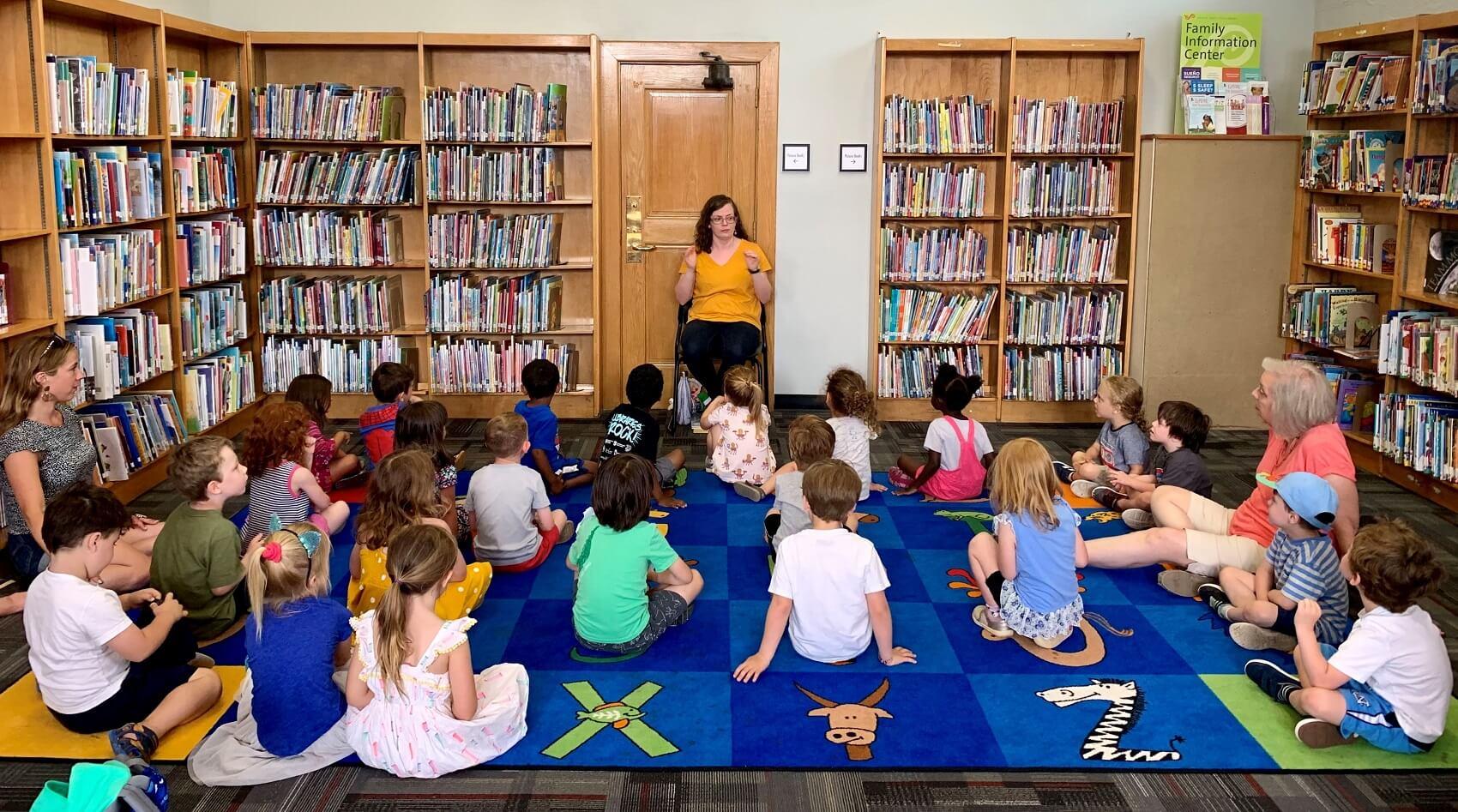 preschool in library
