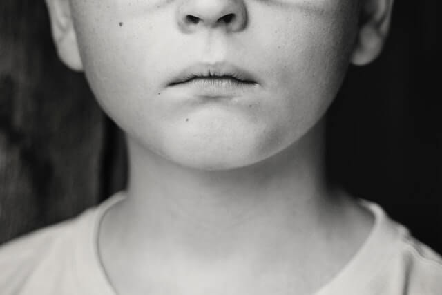 anonymous child portrait