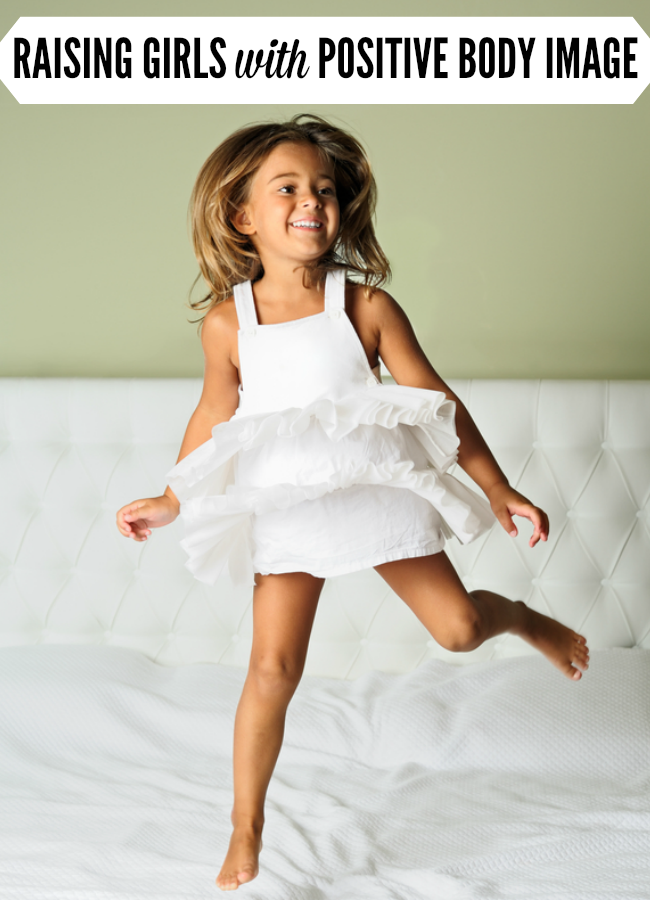 What would you say if your daughter told you that you had fat thighs? Here's one mom's story that just might teach you how to raise girls to have positive body image. | Her Future Fat Thighs by @letmestart