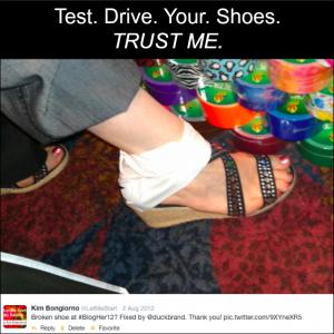 Kim Bongiorno Broken Shoe 2012