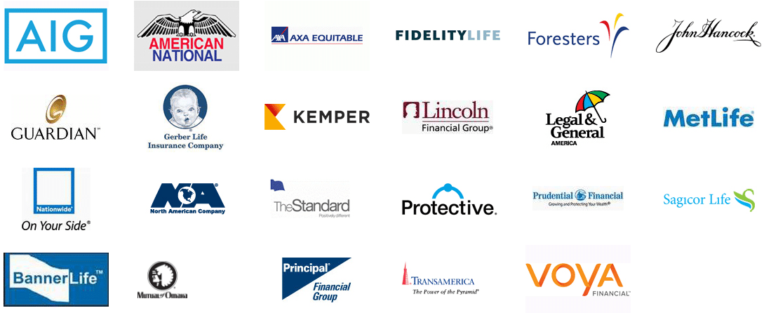 These are life insurance companies we work with.