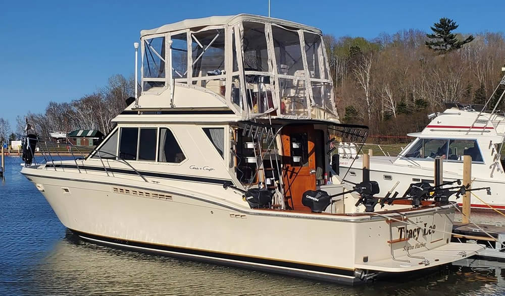 Tracy Lee Charters new Chris Craft charter fishing boat