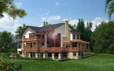MODERN DAY CHALET – Private Residence in Holmdel, NJ
