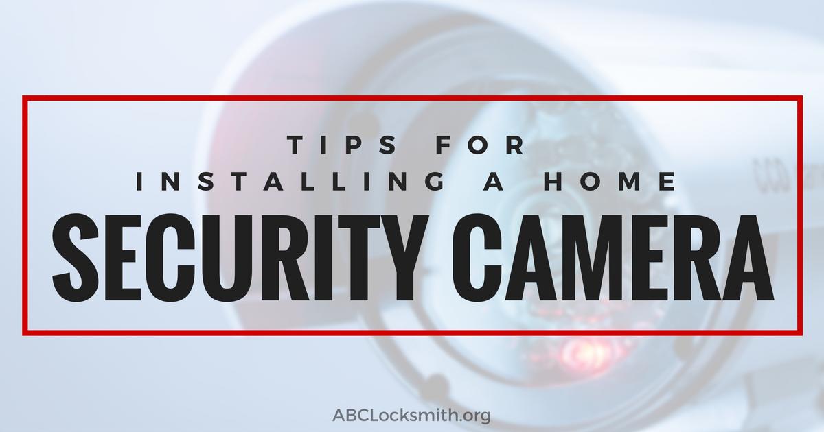 ABC Locksmith - Home Security Camera -08-24-16