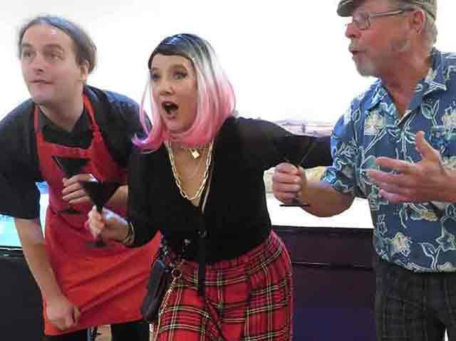 Michael Handy, Lesley Braithwaite, Ed Suttle (L to R)