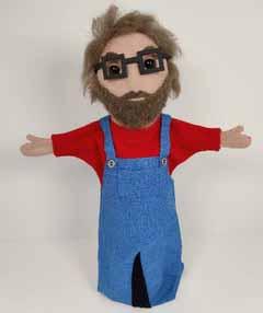 he hand puppet opt