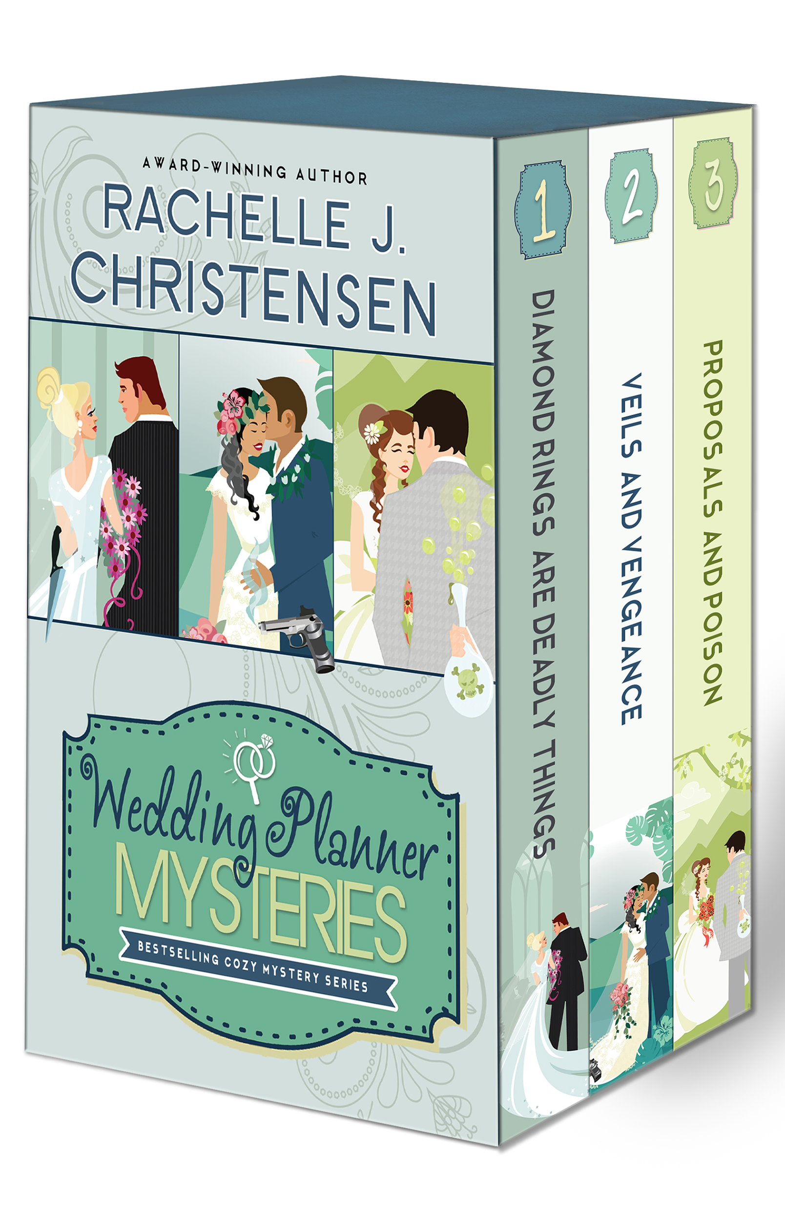 WEDDING PLANNER MYSTERY SERIES - Box Set (for Amazon)