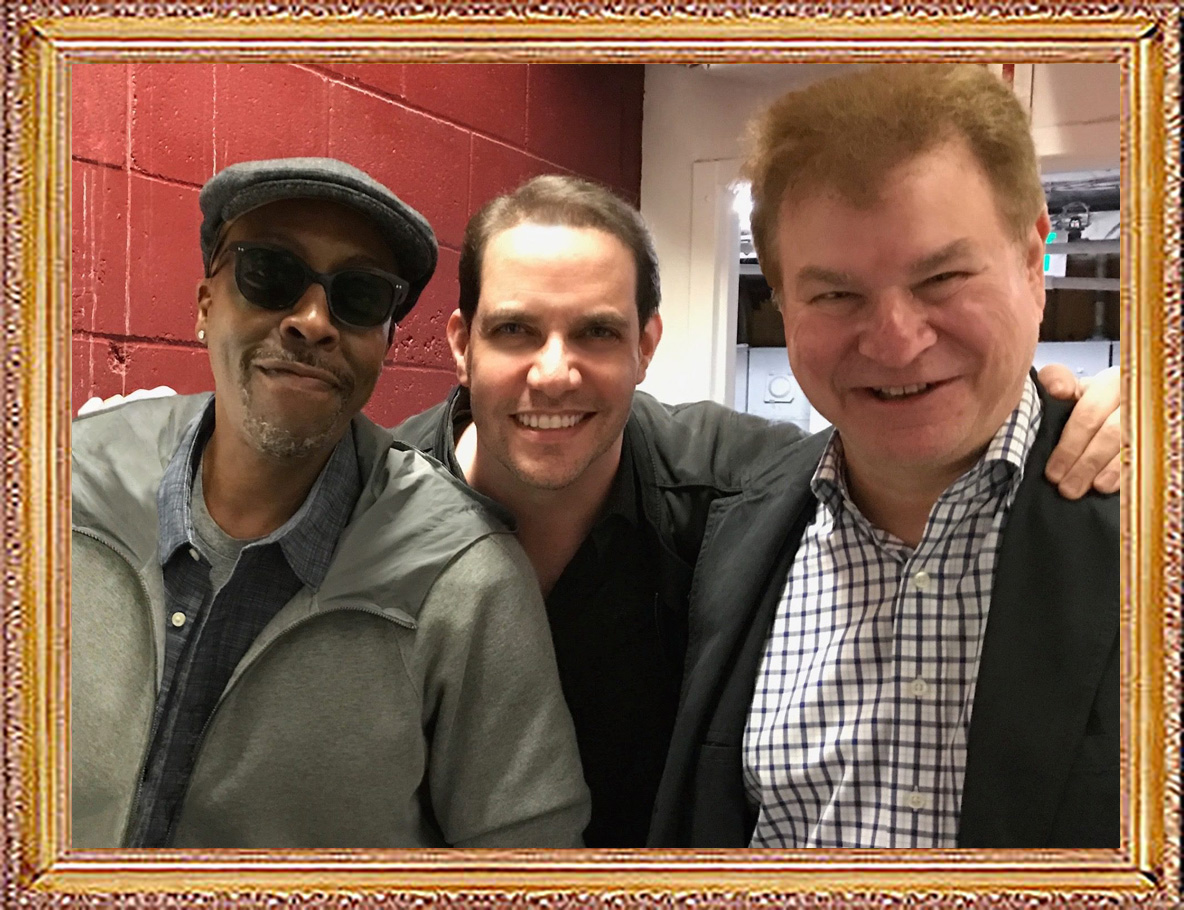 Celebrities-and-Friends-Arsenio-Hall-and-Robert-Wuhl