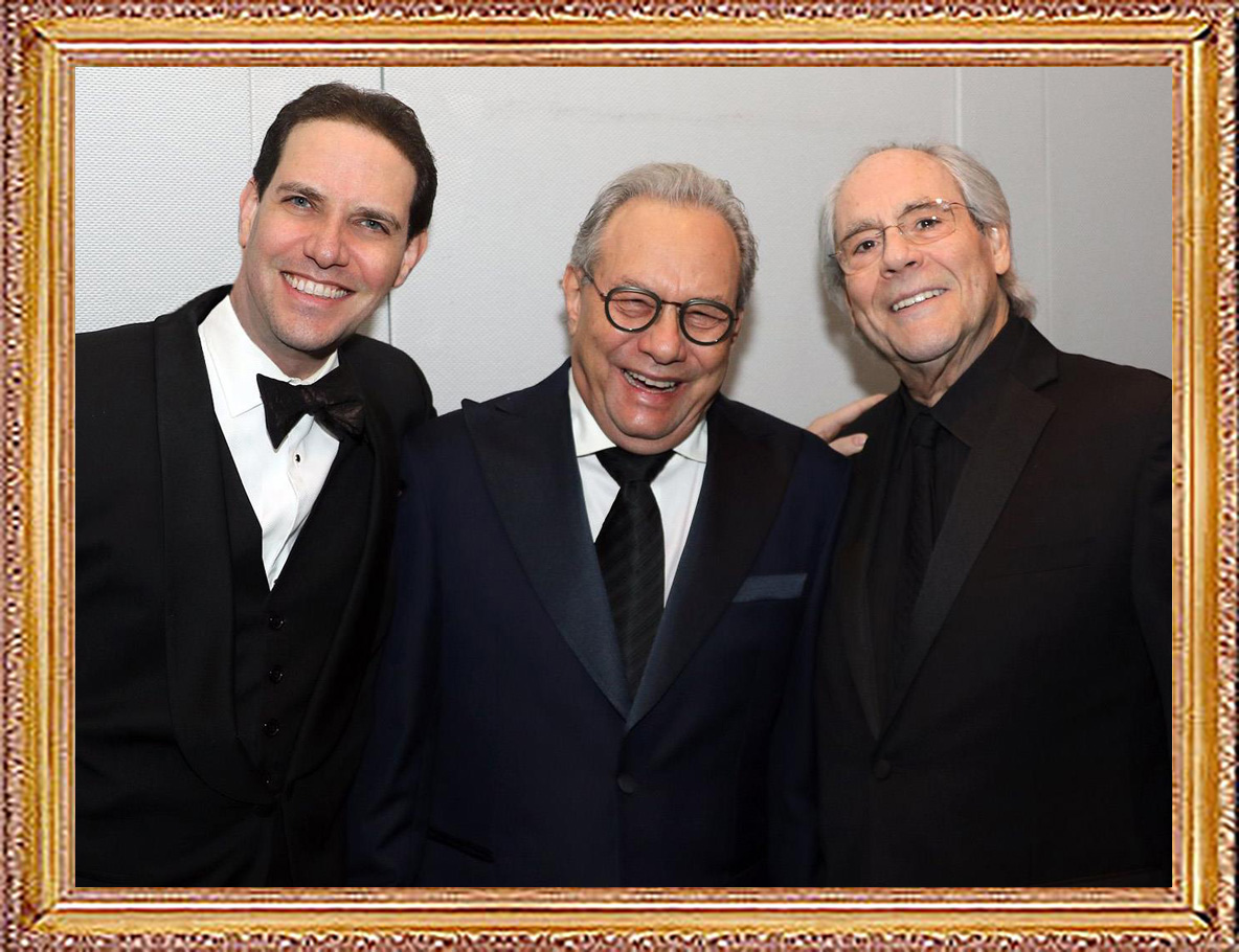 Celebrities-and-Friends-Lewis-Black-and-Robert-Klein