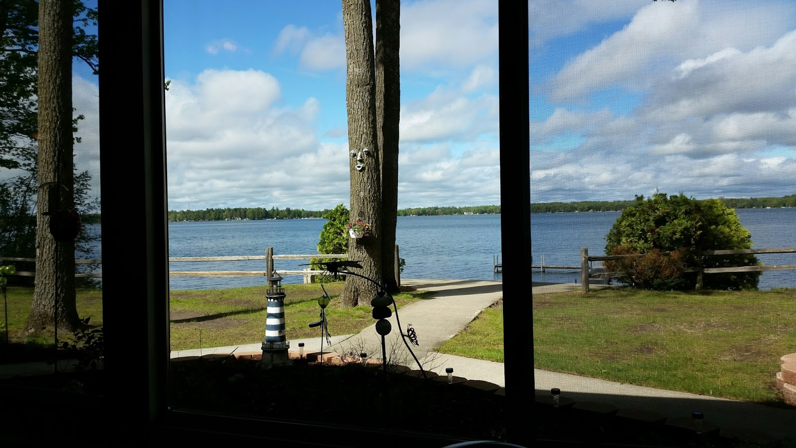 Lewiston Lodge - View of the Lake