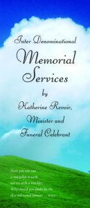 Memorials brochure cover