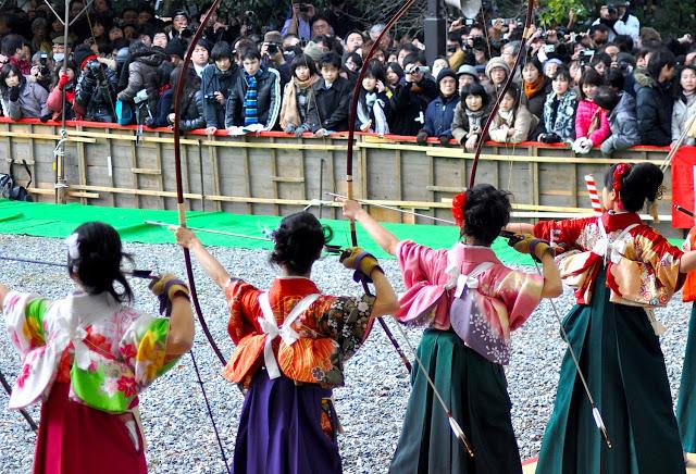 Modern Day Archery in Japan