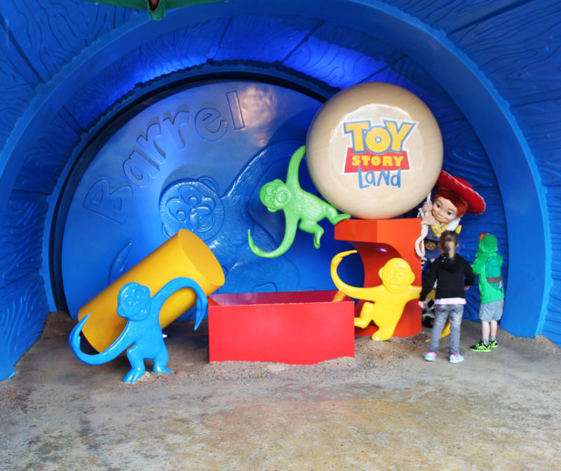 Hong Kong Disneyland, Toy Story, China, Disney, Family travel, traveling with kids, Disney themeparks, Woody and Jessie