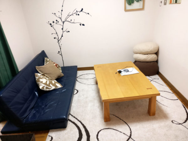 front room airbnb in japan