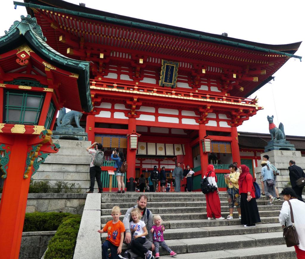Temples at Fushimi Inari-Taisha