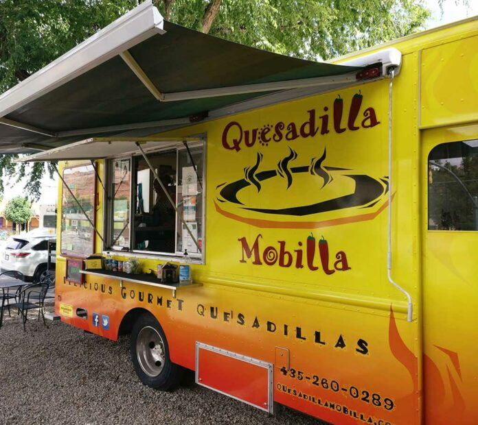 Quesadilla Mobilla, Best Mexican Food in Moab