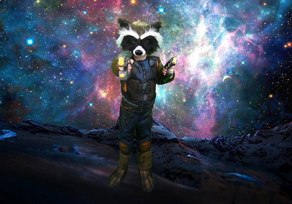 Rocket Raccoon Halloween Costume, Guardians of the Galaxy, Halloween Costume Tutorial, Diapers on a plane, diapersonaplane, traveling with kids, creating family memories, family travel