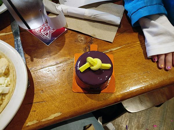 Blueberry Birthday Cake