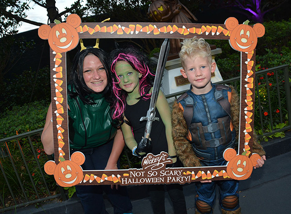 Mickey's Not So Scary Halloween Party as Guardians of the Galaxy