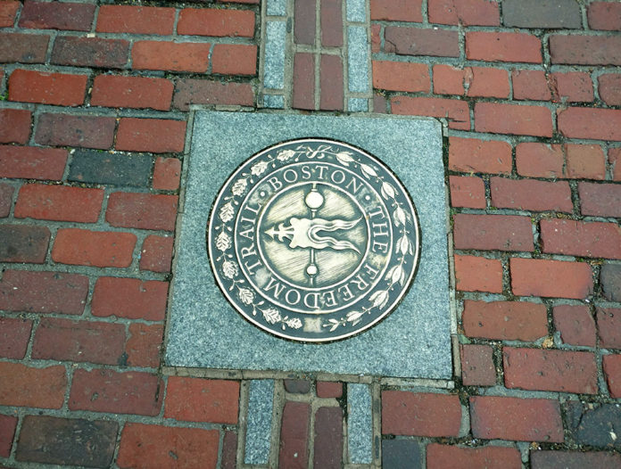 Freedom Trail, Boston, Freedom Trail with Kids, Massachusetts, History of Boston, diapersonaplane, Diapers on a plane, creating family memories, family travel, traveling with kids