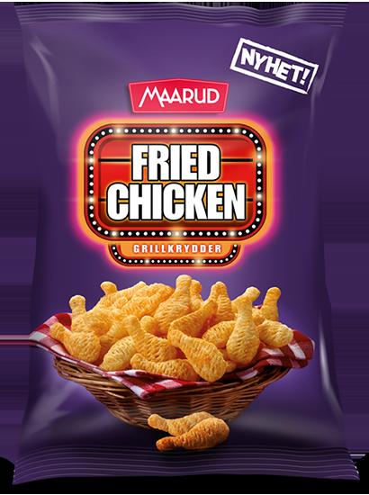 Fried Chicken Maarud Grillkrydder