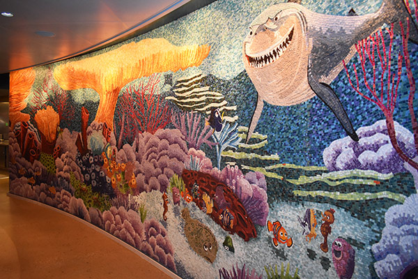 Disney Cruise Buffet Cabana's Mural