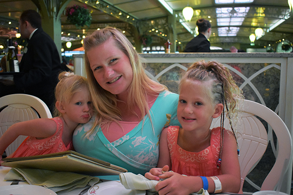 Disney Cruise Dining, Rotational Dining, Disney Dining, Dining on a Disney Cruise, Animator's Palette, Triton's, Disney Food, Eating on a Cruise, diapersonaplane, diapers on a plane, creating family memories, family travel, traveling with kids