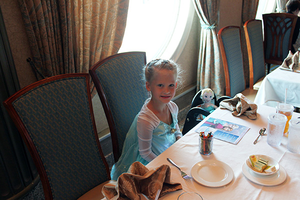 Scandinavian Dinner on Disney Cruise