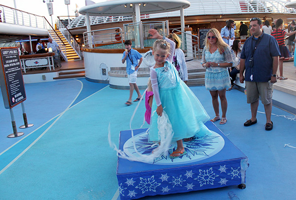 Freezing the Night Away with Anna and Elsa