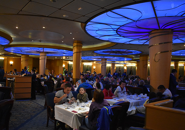 Disney Cruise Dining, Rotational Dining, Dining on a Disney Cruise, Triton's, Lumiere's, Main Dining, Elegant Dining Disney Cruise, Diapersonaplane, Diapers on a plane, traveling with kids, family travel, creating family memories, world schooling