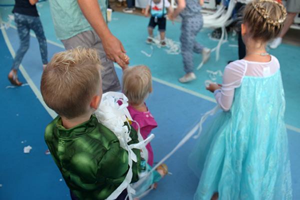 Frozen Deck Party Disney Cruise
