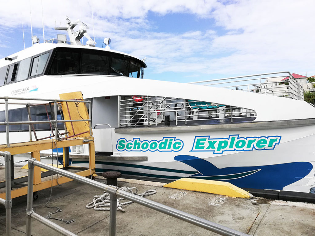 Vieques Ferry Schoodic Explorer