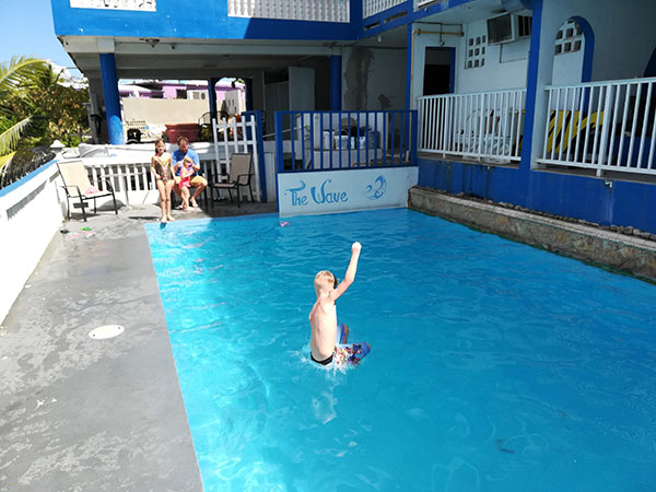 The Wave Hotel in Vieques Pool