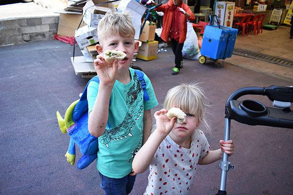 Steamed Buns at Sinpo International Market