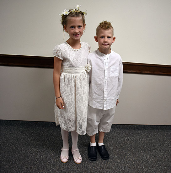 Twins Baptism Day