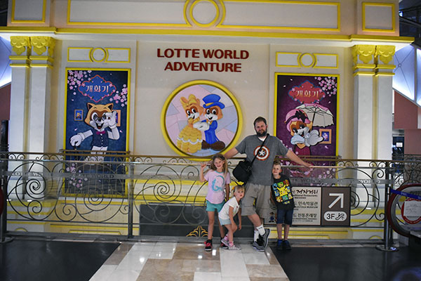 Lotte World with Kids and Dad