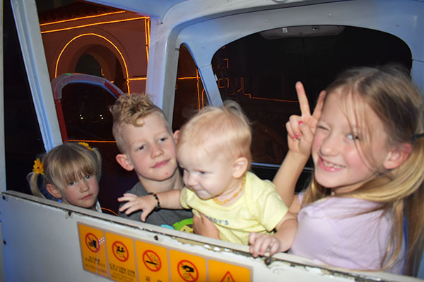 Lotte World with Kids Monorail