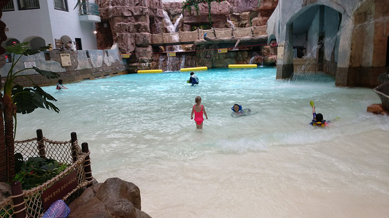 Indoor Wave Pool Caribbean Bay Family Day
