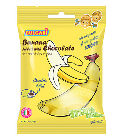 Banana Cheeps Korean Candy
