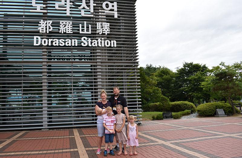 Last stop before North Korea