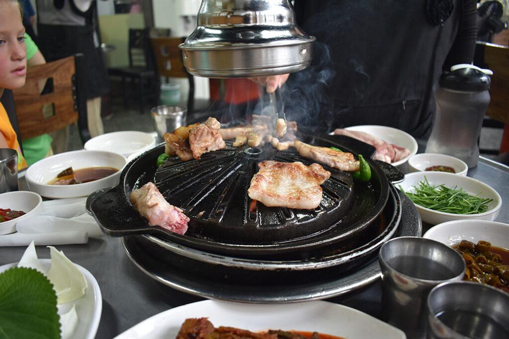 Best Korean BBQ in Incheon, South Korea: Buam Ribs