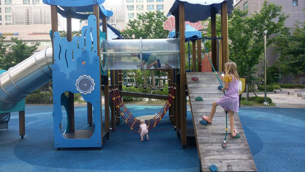Playgrounds in Korea