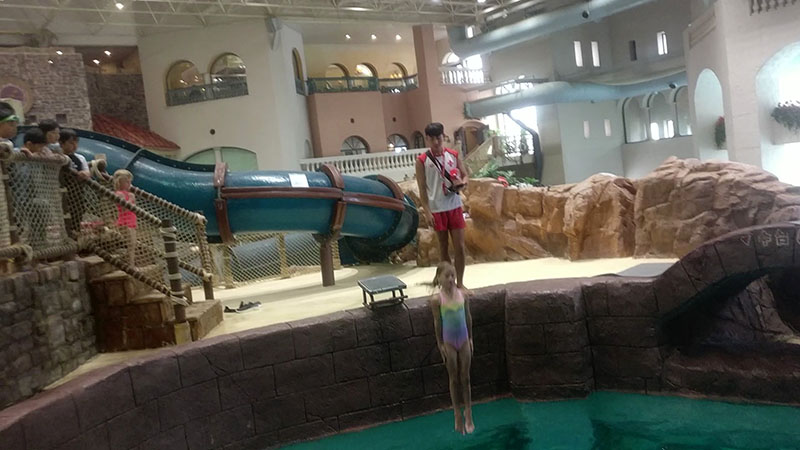 Diving Pool Everland