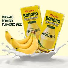 Banana Milk: best Korean snacks to buy