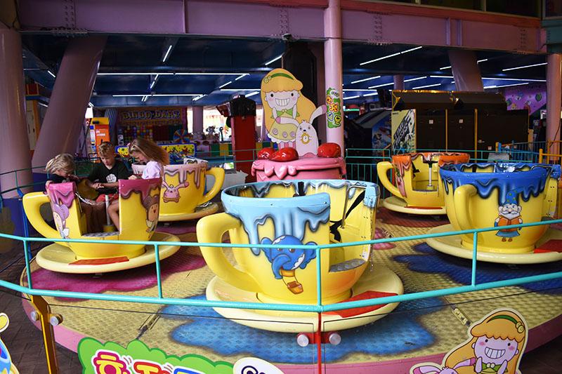 Wolmi Theme Park Rides Swings