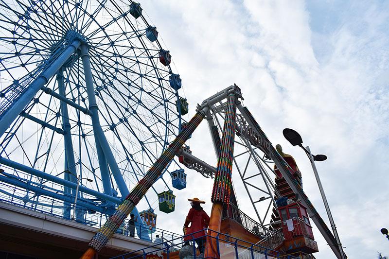 Wolmi Theme Park in Incheon, South Korea