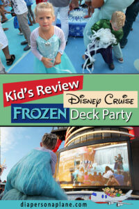 The Night I Wish Never Happened: Frozen Deck Party on the Disney Magic. Not even our 5 year old was fooled by the shameless effort put on by Disney when they phoned this one in. Everyone left disappointed, confused and bewildered. Find out why!