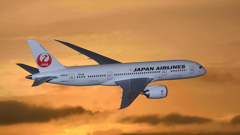 Japan Airlines Airplane